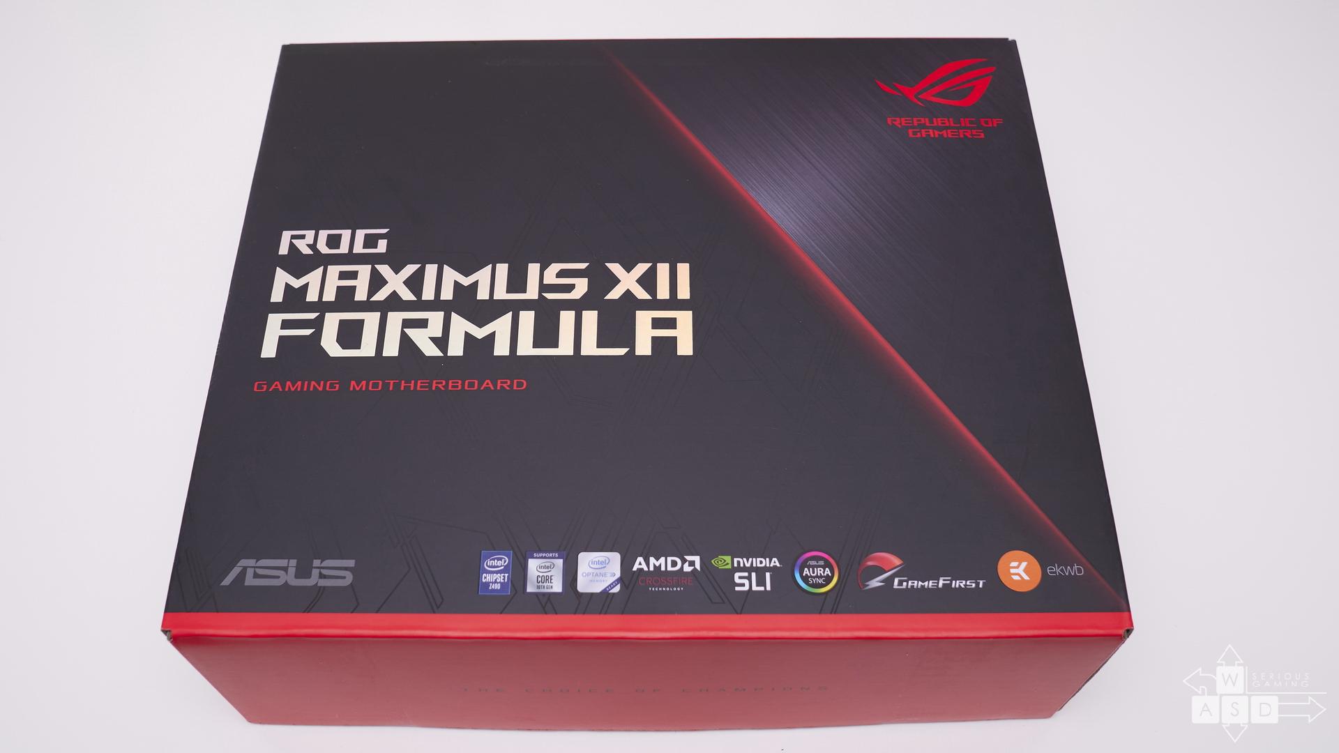Asus ROG Maximus XII Formula review | WASD
