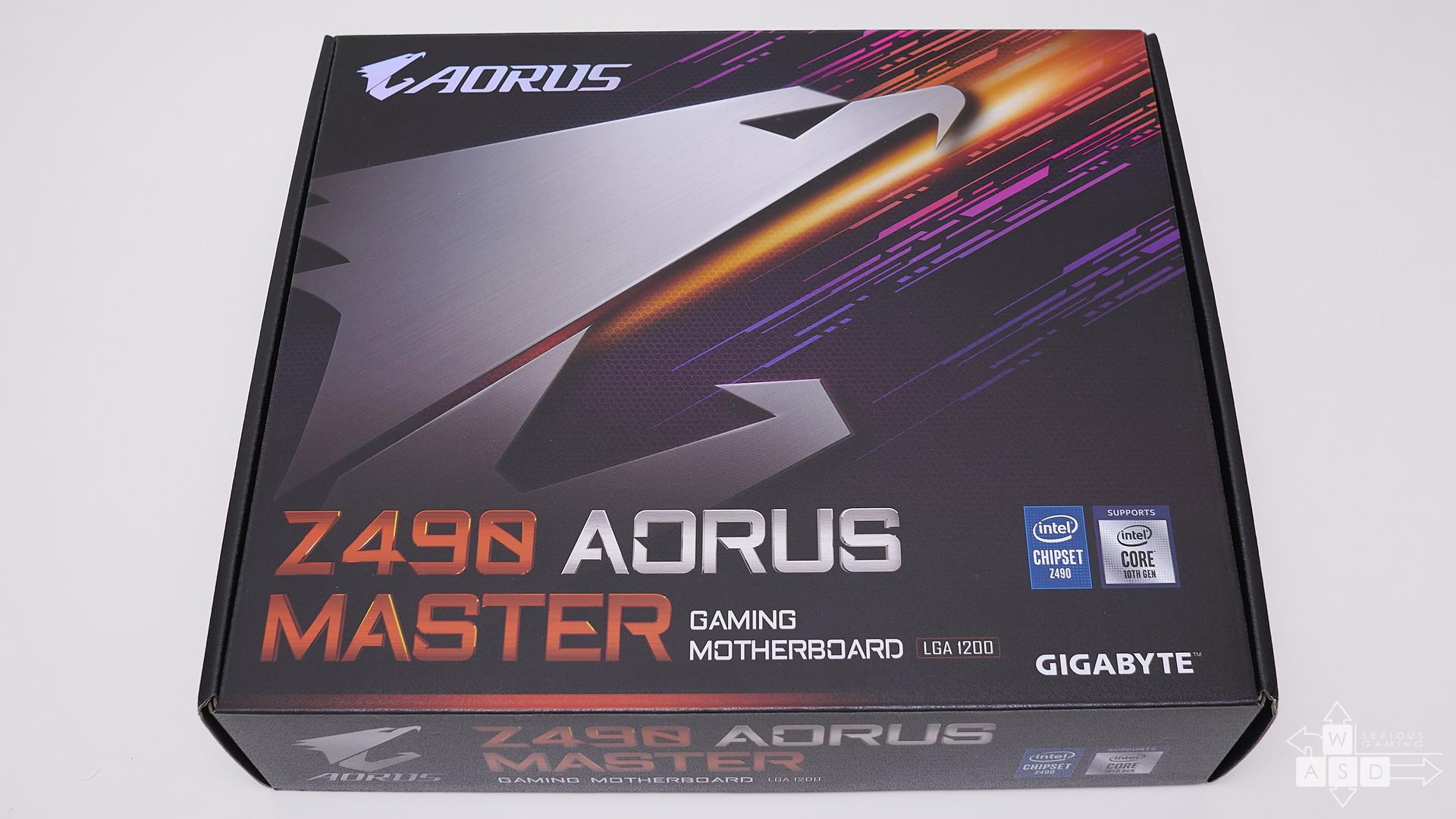 Gigabyte Z490 Aorus Master review | WASD