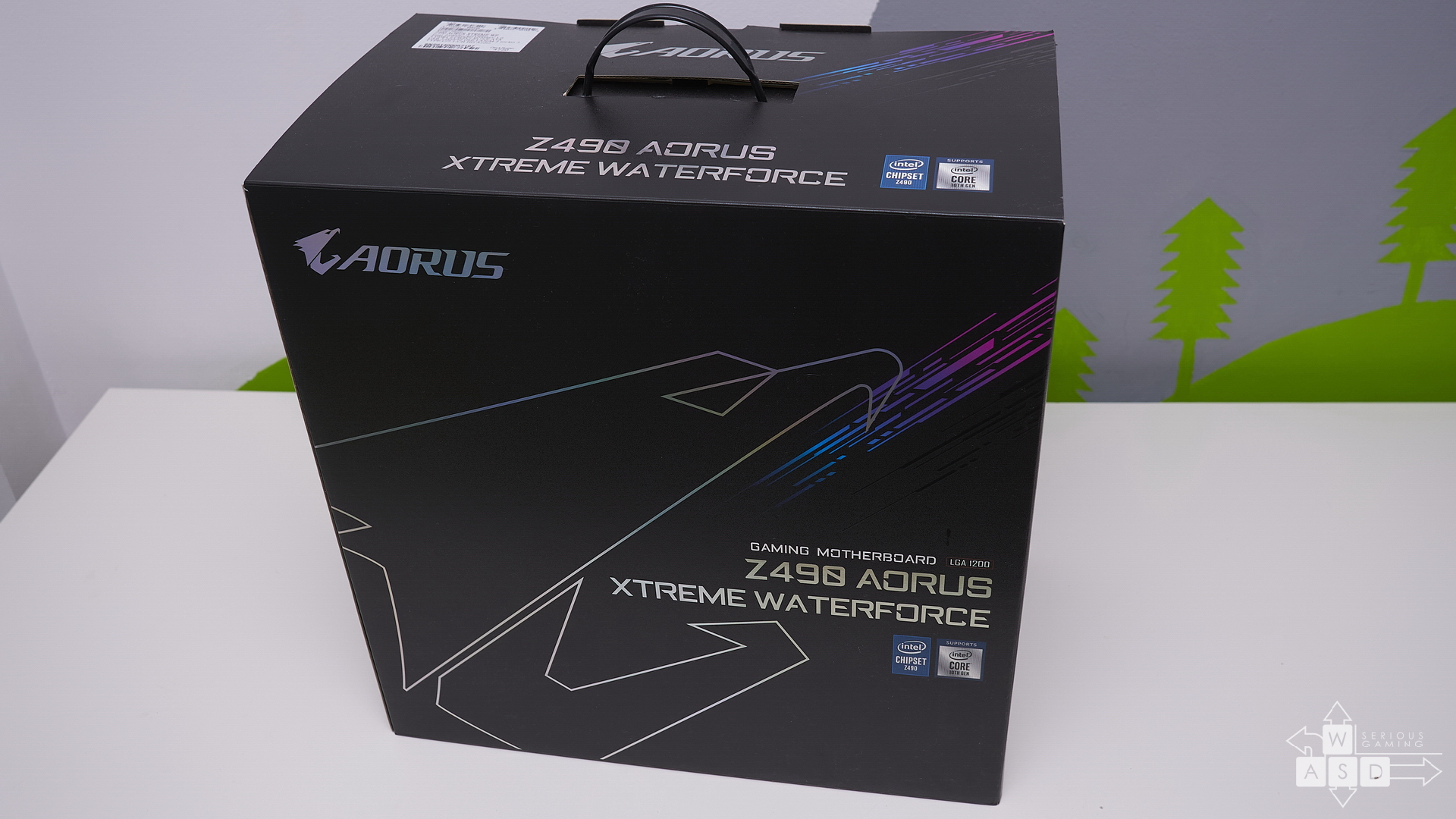 Gigabyte Z490 Aorus Extreme Waterforce review | WASD