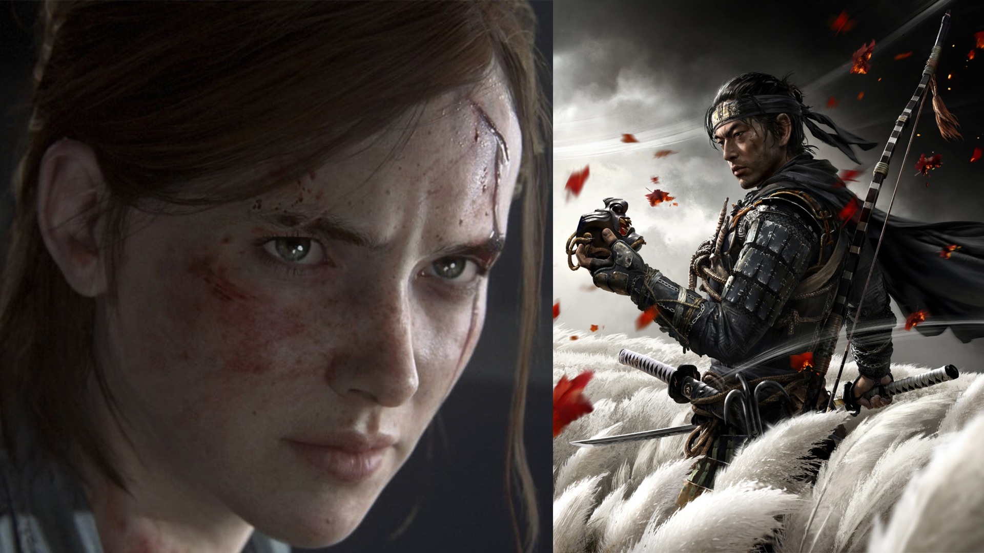 The Last of Us 2 and Ghost of Tsushima