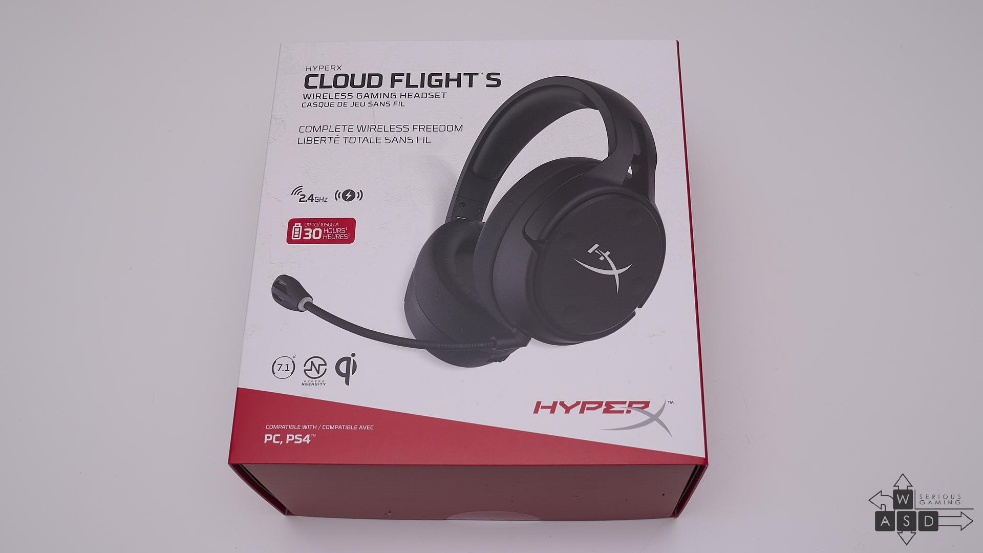 HyperX Cloud Flight S review | WASD