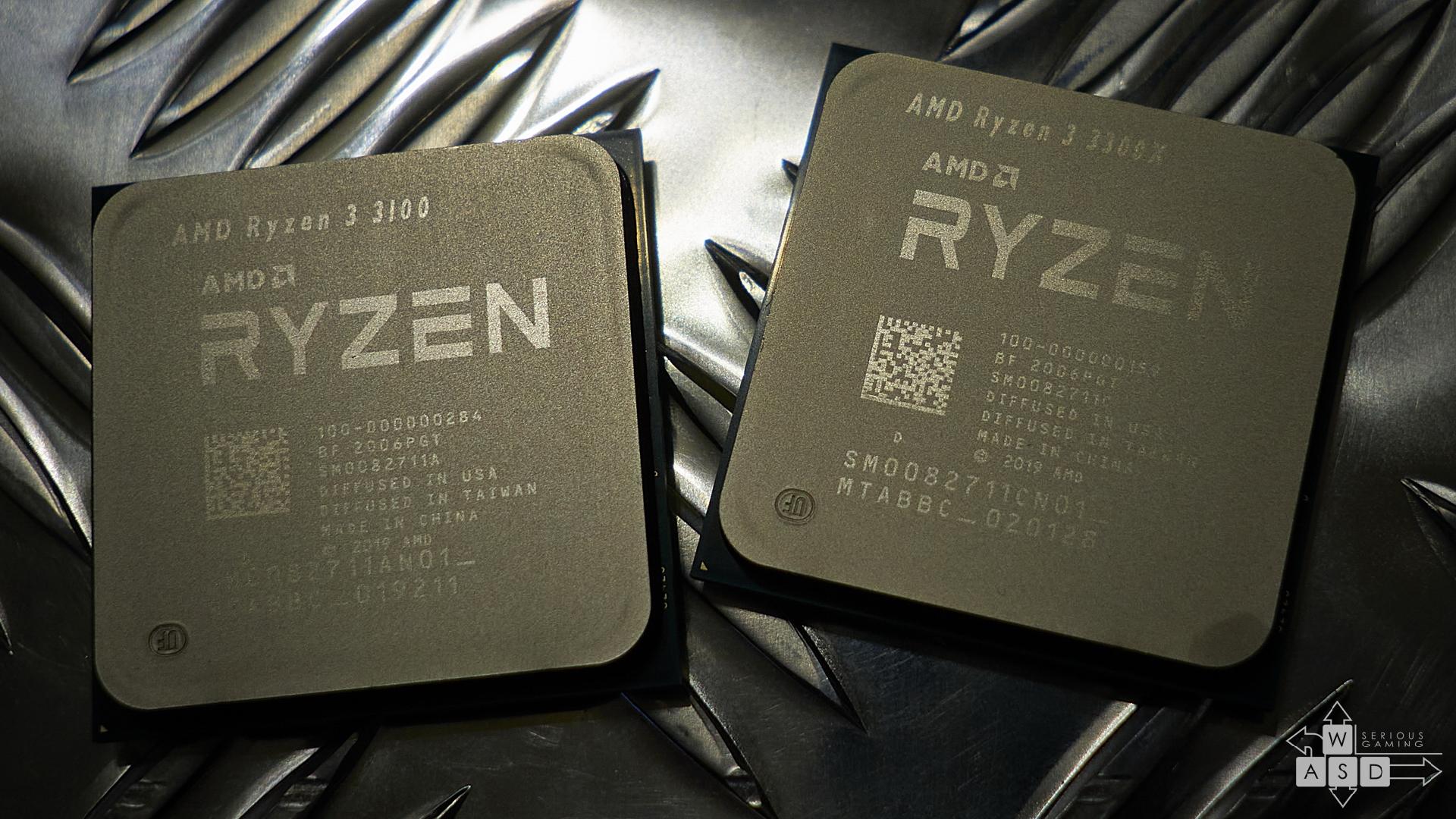 AMD Ryzen 3 3100 & 3300X review | WASD