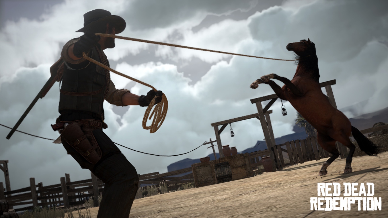 Red Dead Redemption Horse Lasso
