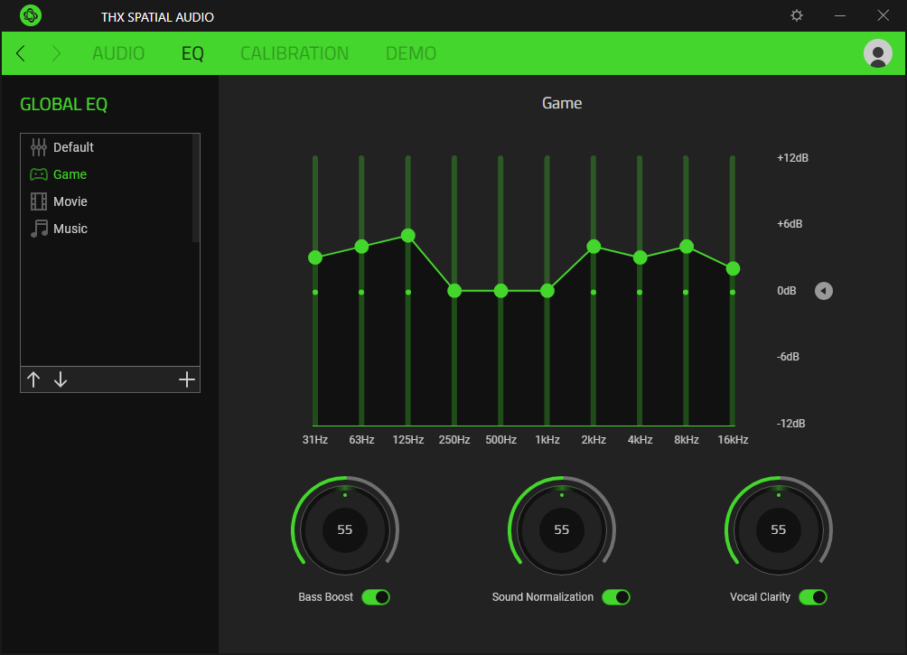 Razer THX Spatial Audio App