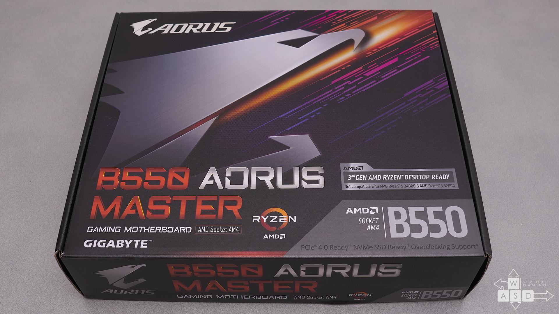 Aorus B550 Master | WASD
