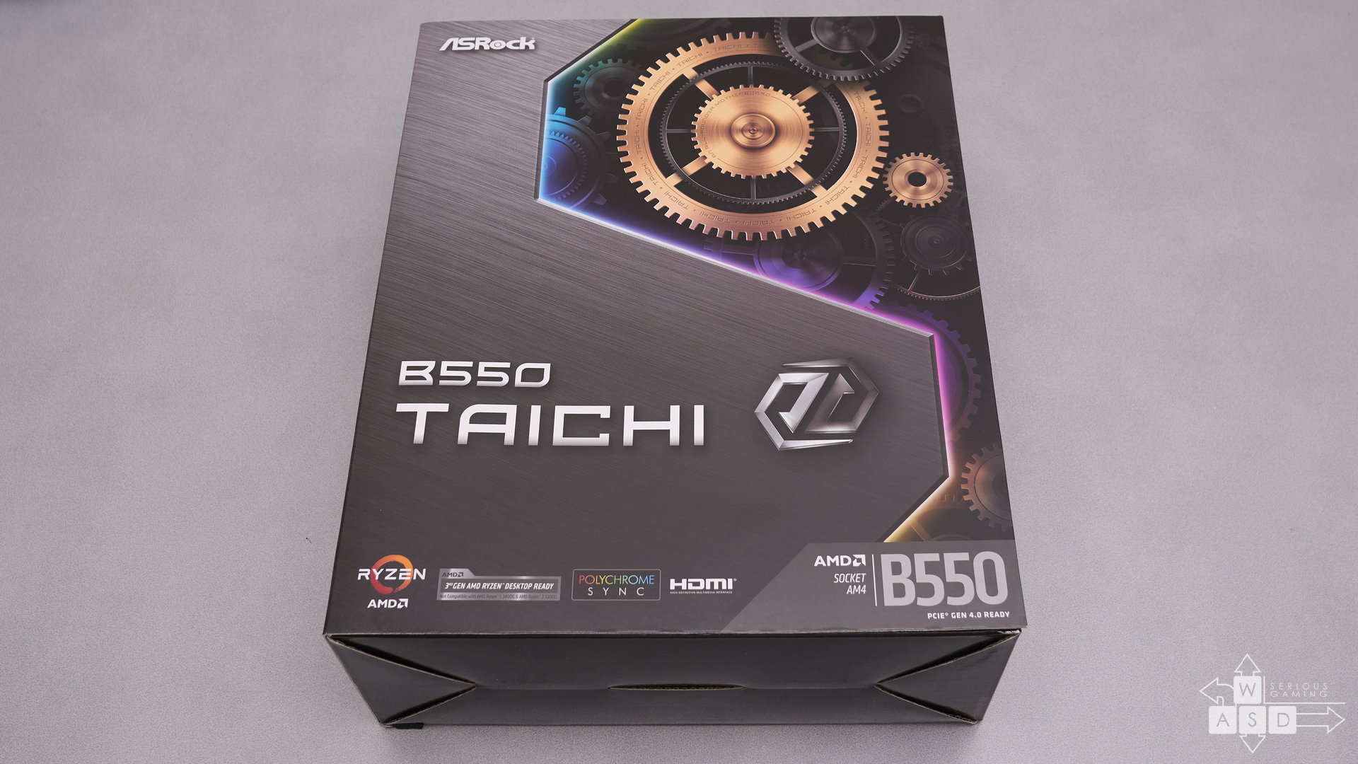Asrock B550 Taichi | WASD