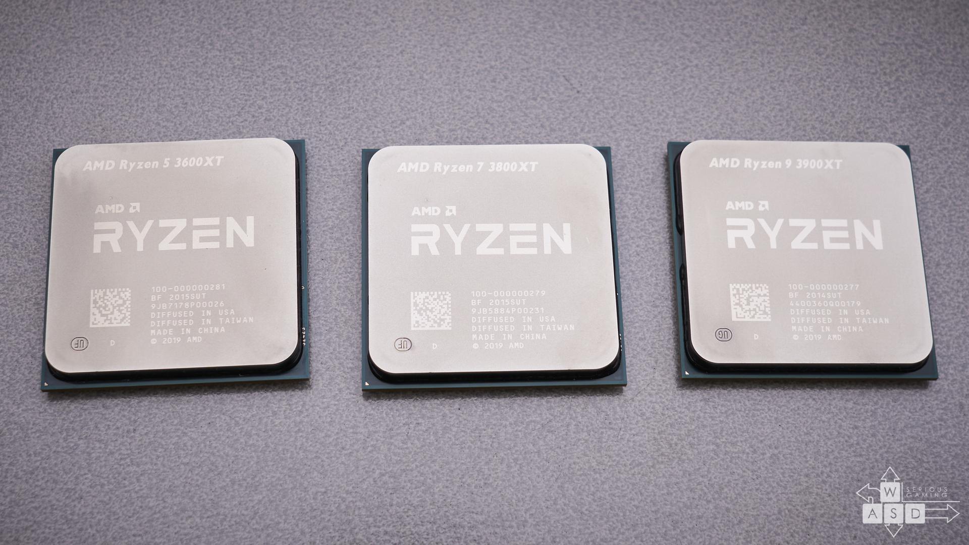 AMD Ryzen 5 3600XT, Ryzen 7 3800XT & Ryzen 9 3900XT | WASD