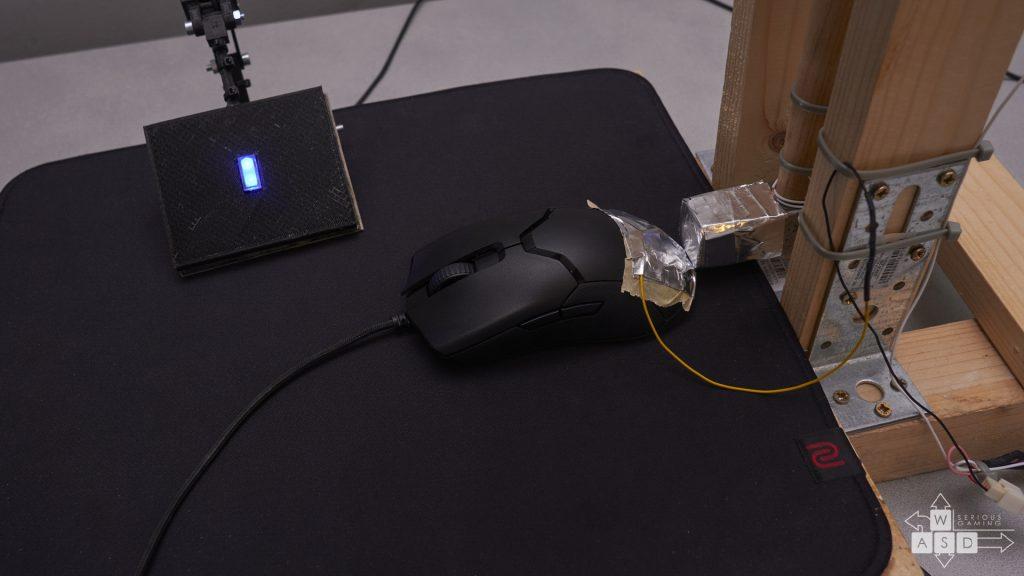 Razer Viper input lag tests | WASD