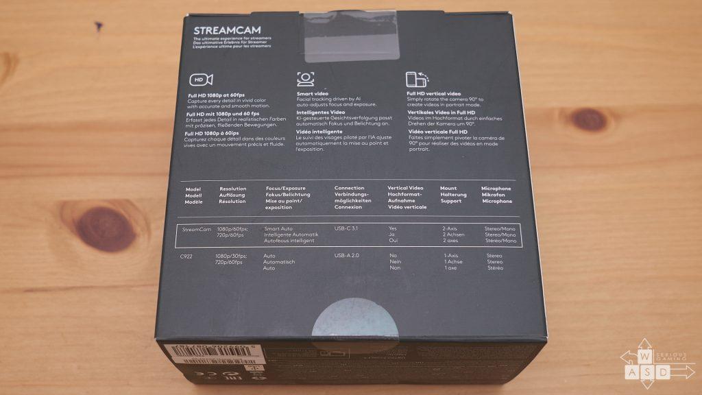 Logitech StreamCam review | WASD