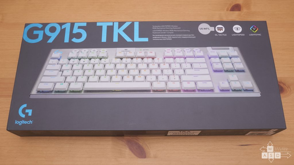 Logitech G915 TKL review | WASD