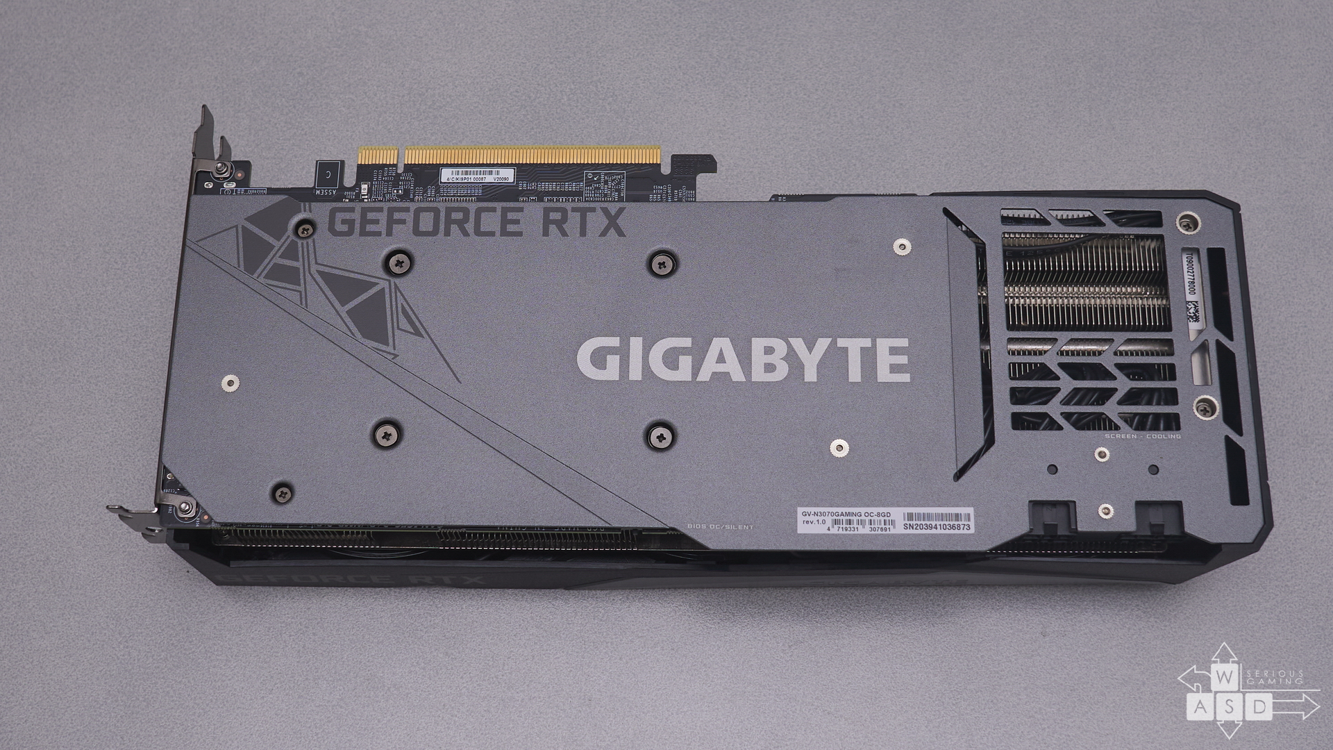 Gigabyte GeForce RTX 3070 Gaming OC 8G review | WASD