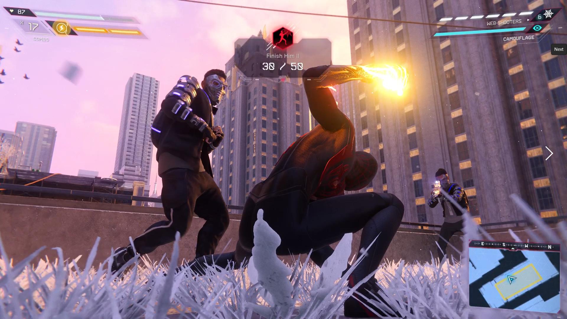 Miles Morales Venom Punch