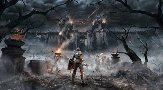 Demon's Souls key art