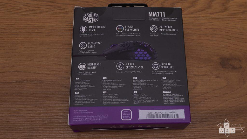 Cooler Master M711 review | WASD