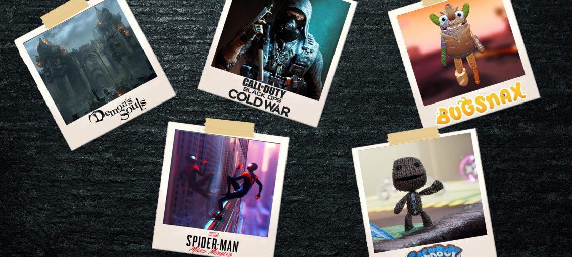 TOP 5 jocuri pentur PS5