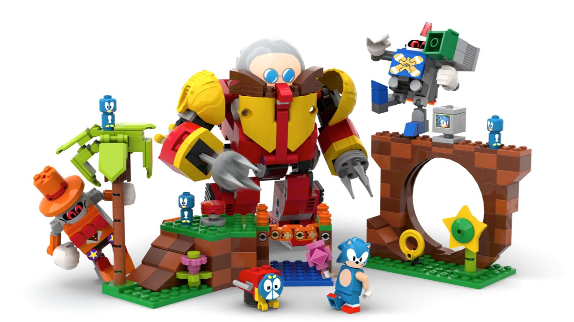 Lego Sonic
