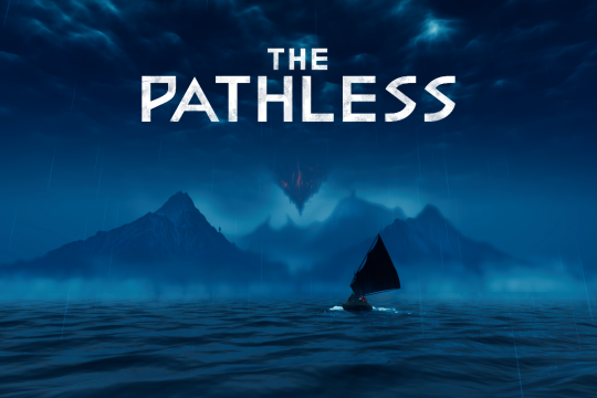 The Pathless Title Card