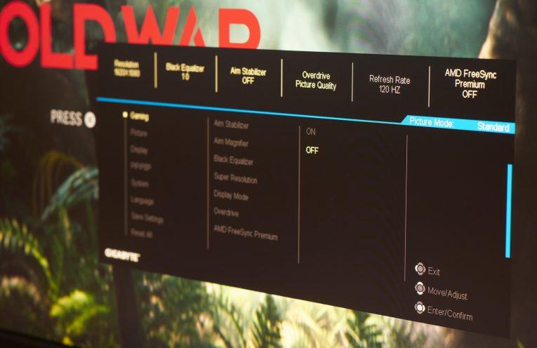 Gigabyte M27Q review   WASD
