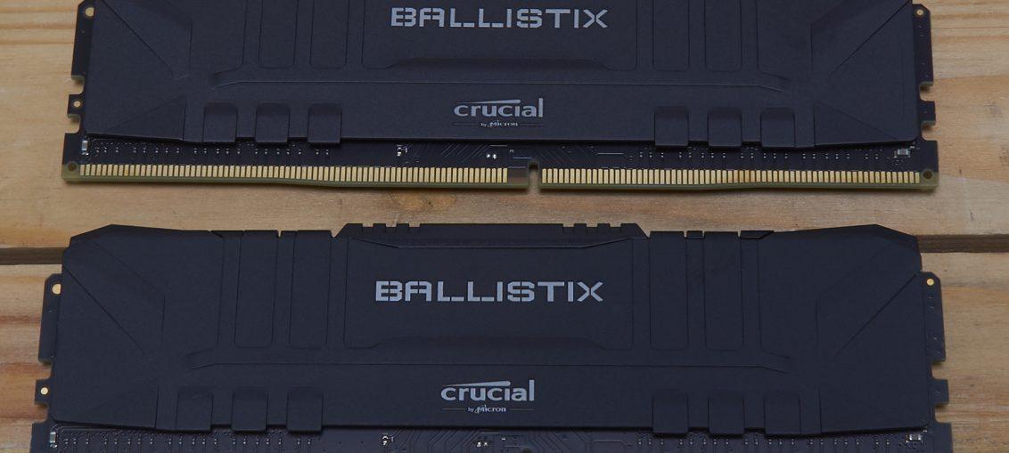 Crucial Ballistix Gaming Memory | WASD.ro