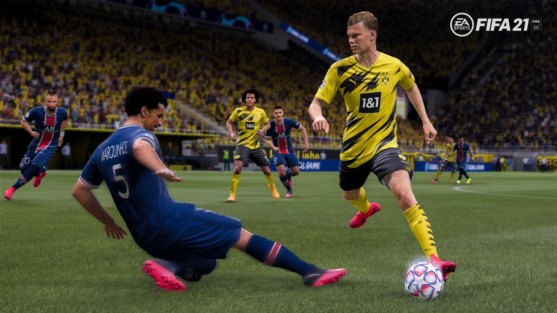 FIFA 21 lead