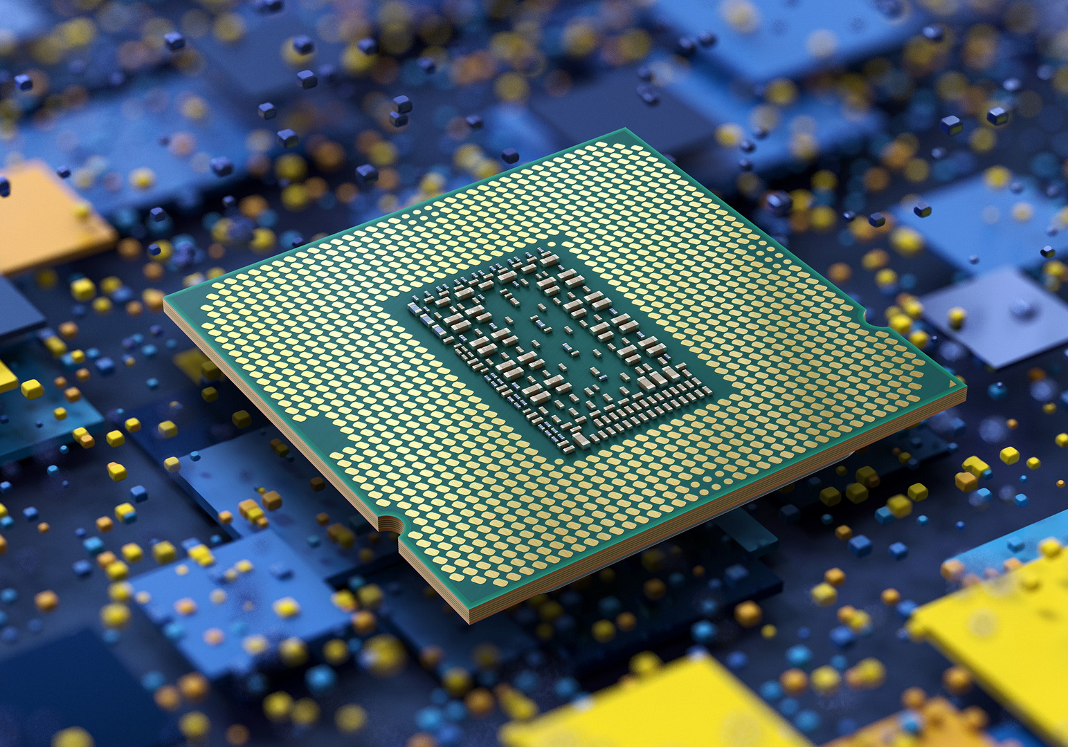 "11th Gen Intel Core desktop processors (code-named ""Rocket Lake-S"") deliver increased performance and speeds. Intel launched the processors on March 16, 2021. (Credit: Intel Corporation)"