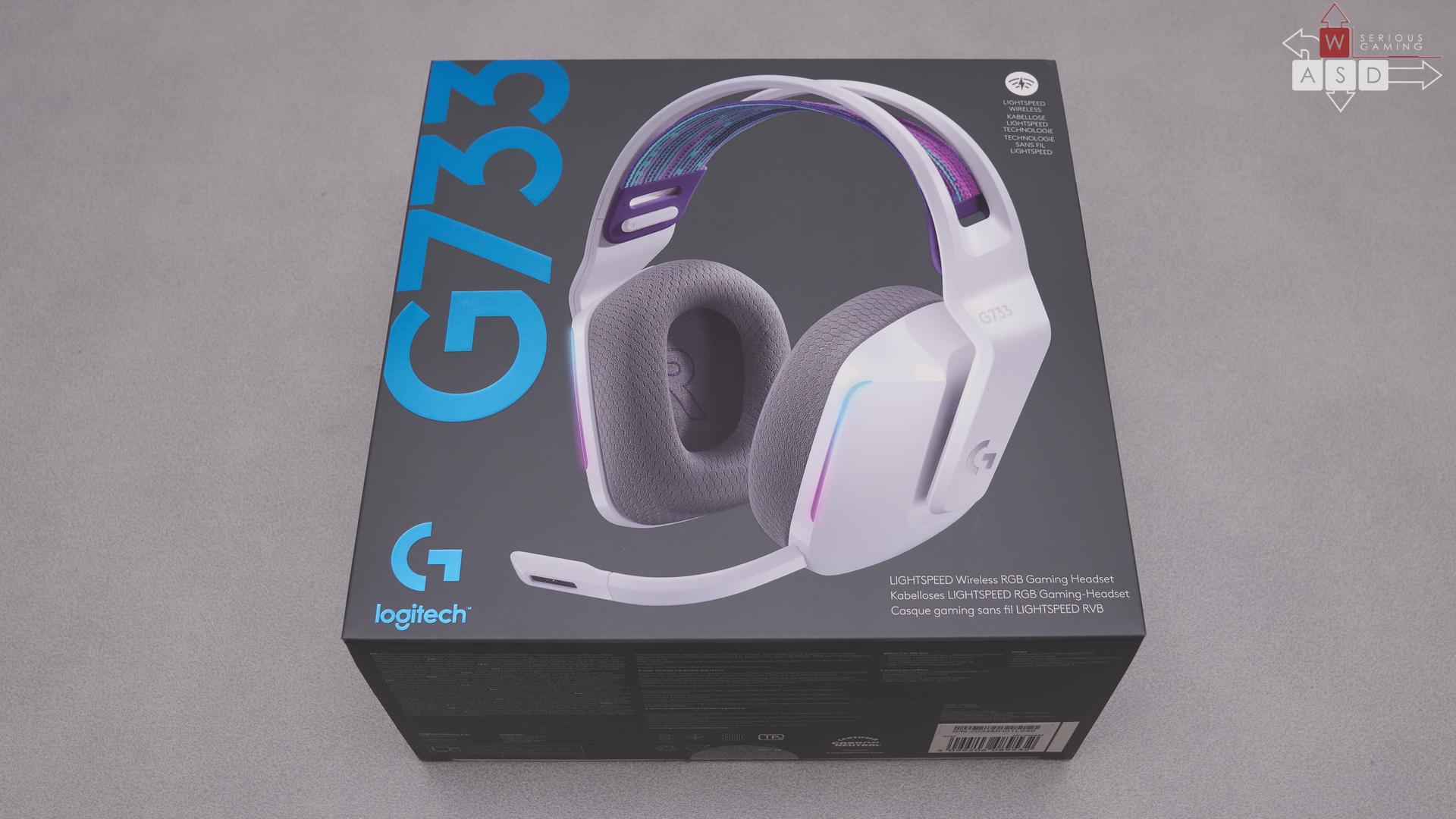 Logitech G733 White review | WASD