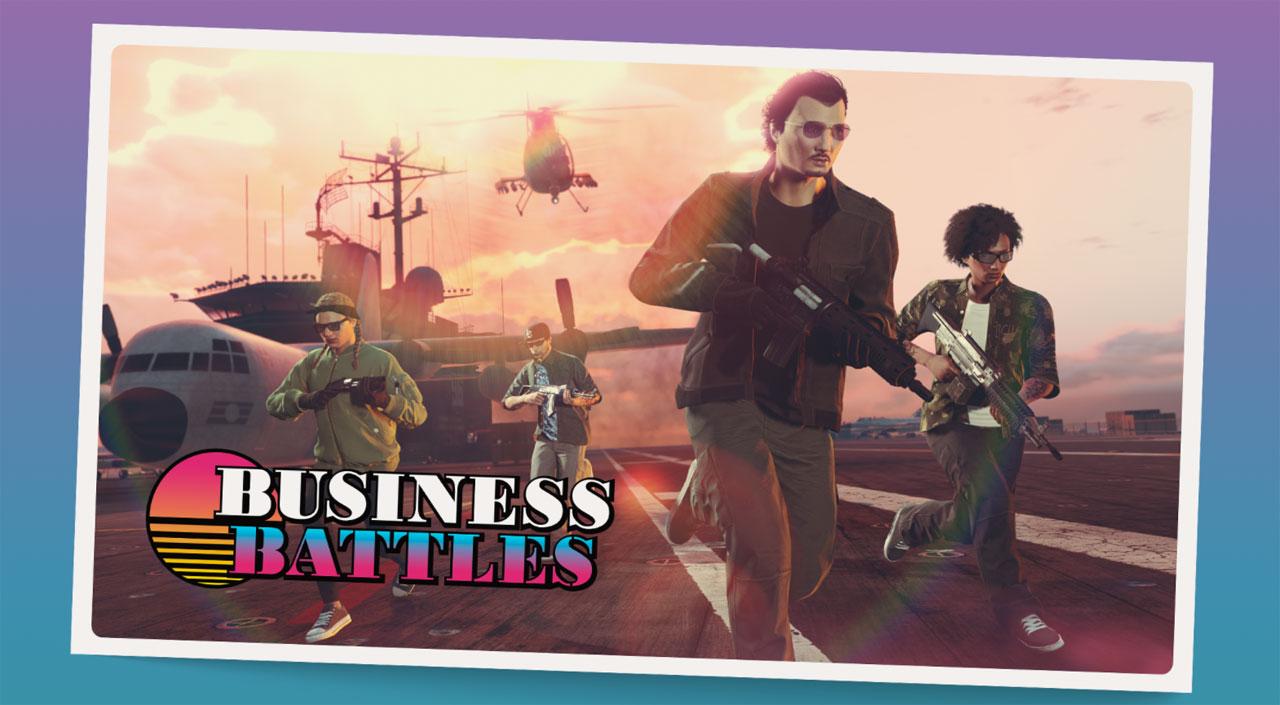 gta online buisness battles