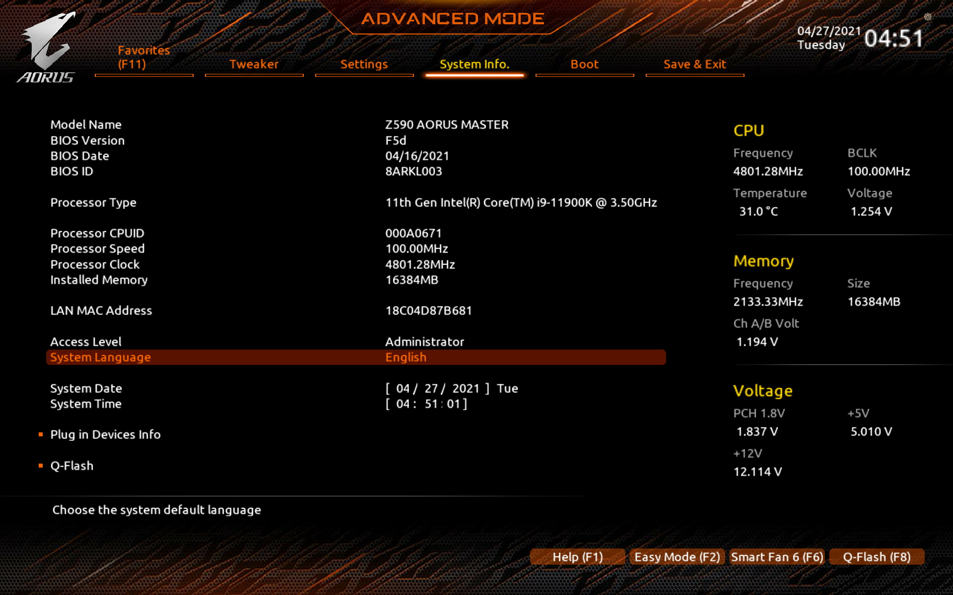 Gigabyte Z590 Aorus Master | WASD.ro