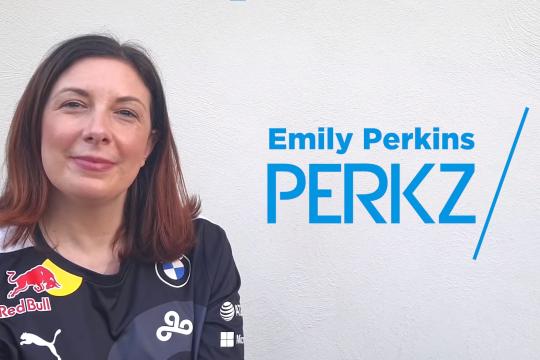 """Emily """"Perkz"""" Perkins"""