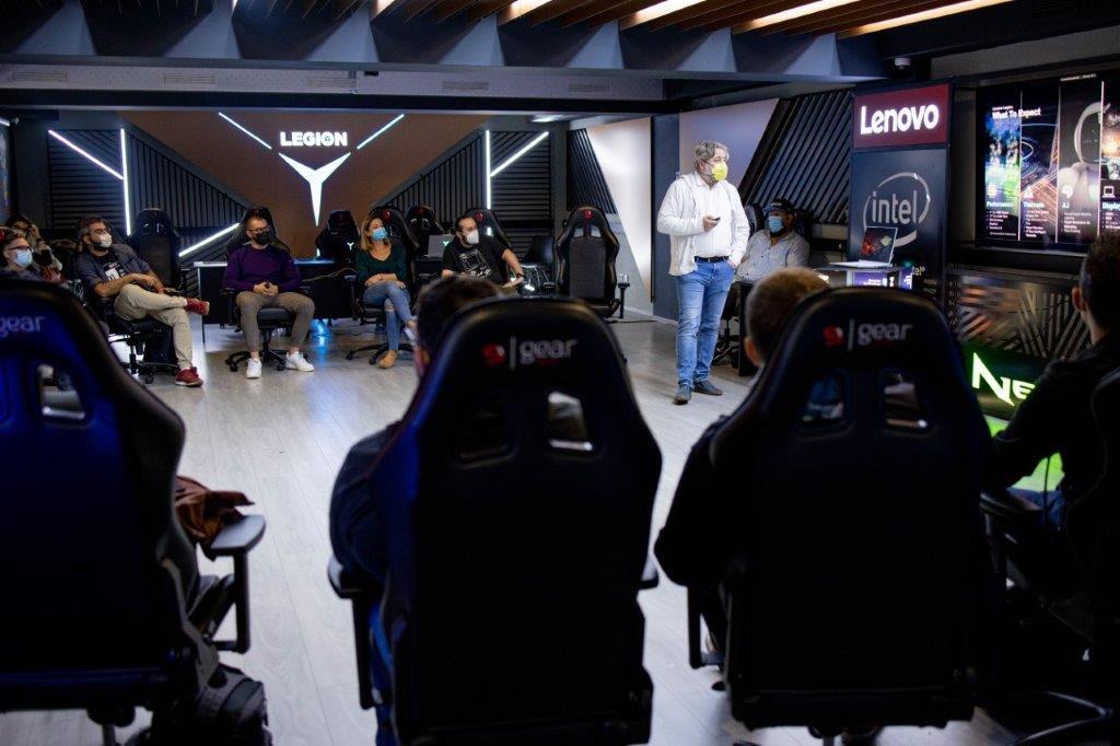 Eveniment Lenovo Legion - gama 2021.