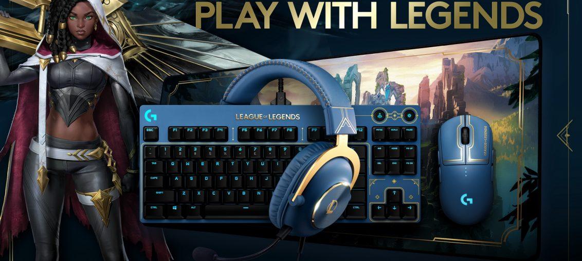 Logitech G League of Legends collection