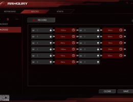 Asus ROG Claymore Armoury (1/6)