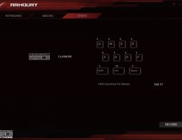 Asus ROG Claymore Armoury (2/6)
