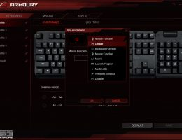 Asus ROG Claymore Armoury (3/6)