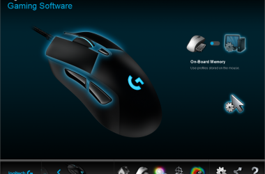 Logitech G403 wired gaming mouse (1/4)
