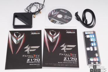 Asrock Z170 Gaming-ITX/AC Fatal1ty (1/8)