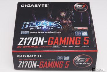 Gigabyte Z170N Gaming 5 (2/8)