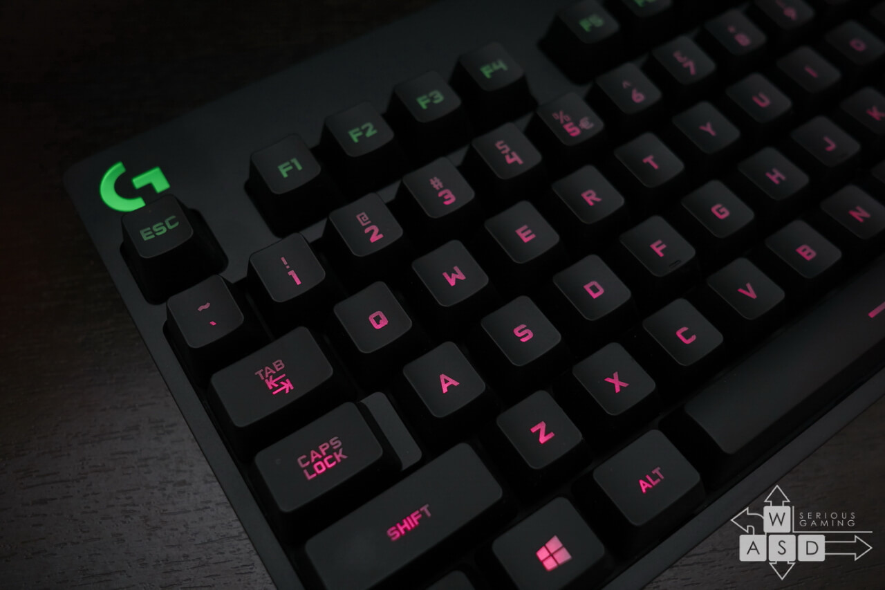Logitech G Pro Tenkeyless Gaming Keyboard review | WASD