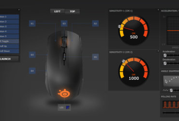 SteelSeries Rival 100 (1/4)